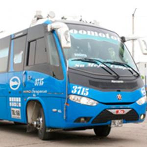 Bus Coomotor - Turquesa